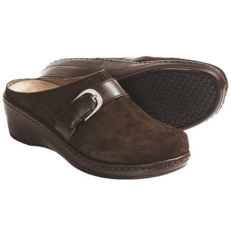 Klogs Bonny Clogs - Leather (For Women) in Coffee Suede