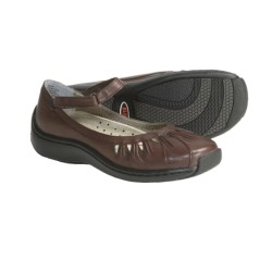 Klogs Cape May Mary Jane Shoes - Leather (For Women) in Coffee