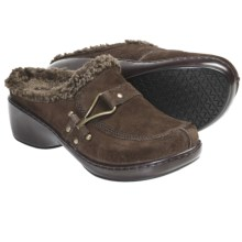 Klogs Cozy Clogs (For Women) in Coffee Suede - Closeouts