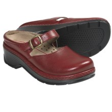 Klogs LaJolla Mary Jane Clogs - Leather (For Women) in Red Print - Closeouts