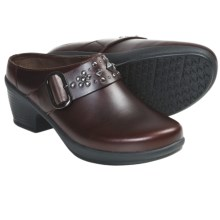 Klogs Nashville Clogs - Leather, Stud Accents (For Women) in Brown Cyclone - Closeouts
