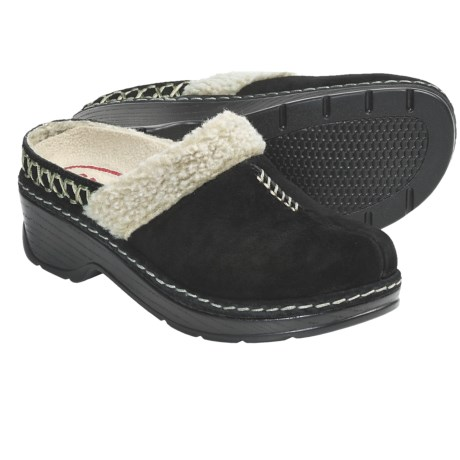 Klogs Zurich Clogs (For Women) in Black Suede