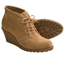 Klub Nico Keaton Shoes - Suede, Wedge Heel (For Women) in Tan - Closeouts