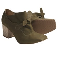 Klub Nico Ryne Pumps - Bow Accent (For Women) in Olive - Closeouts