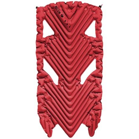 Klymit Inertia X Wave Air Mattress - 3/4 Length in Red