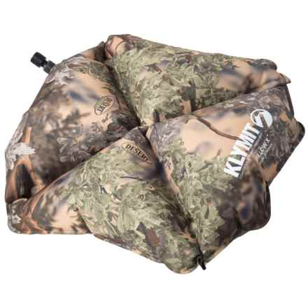 Klymit Pillow X - Inflatable in Camo - Closeouts