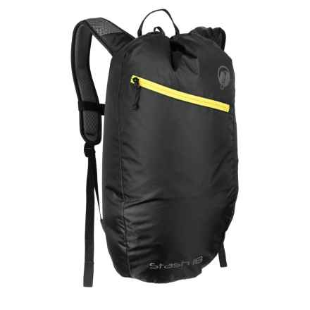 Klymit Stash 18L Backpack - Air Frame in Black - Closeouts