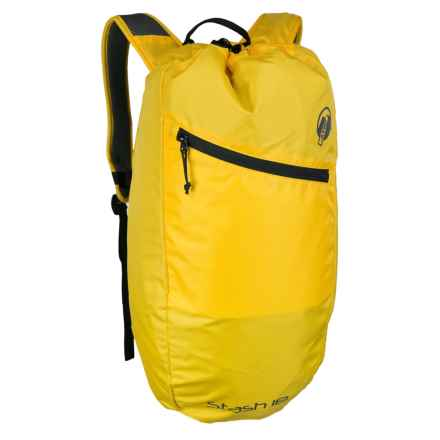 Klymit Stash 18L Backpack - Air Frame in Yellow - Closeouts