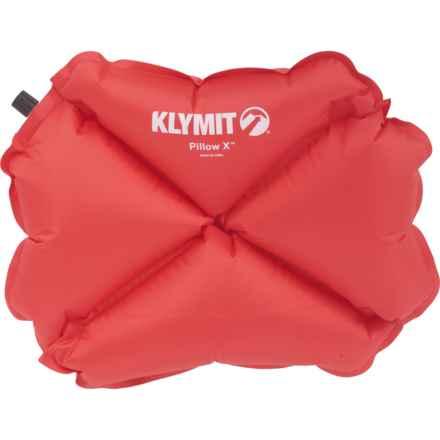 "Klymit X Pillow - 15x11x3.5"""