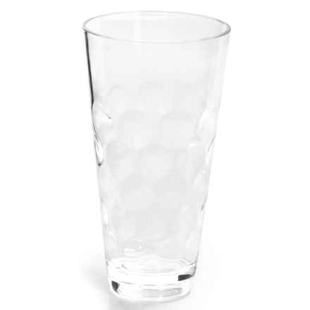Knack3 Cabin Collection Embossed Circle Cup - 16 fl.oz. in Clear - Closeouts