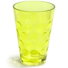 Knack3 Cabin Collection Embossed Circle Double Old-Fashioned Cup - 12 fl.oz. in Lime - Closeouts