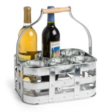 Knack3 Cape Cod Collection Wine Bottle Caddy in See Photo - Closeouts