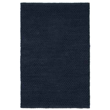 "Knits & Knots Baxter Cotton Rope Accent Rug - 3'6""x5'6"" in Mood Indigo - Overstock"