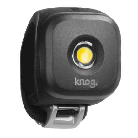 Knog Bl-1 Blinder LED Front Bike Light - USB Rechargeable in Standard Black - Closeouts