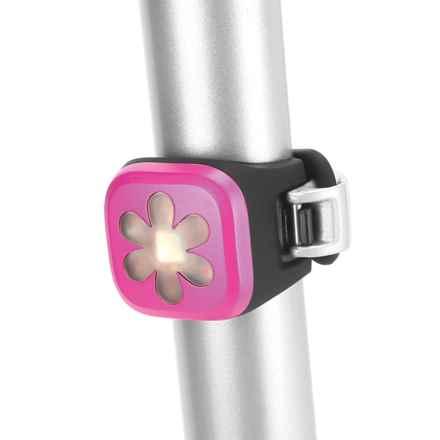 Knog Bl-1 Blinder LED Rear Bike Light - USB Rechargeable in Flower Pink - Closeouts