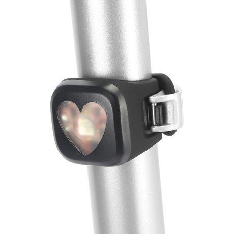 Knog Bl-1 Blinder LED Rear Bike Light - USB Rechargeable in Heart Black