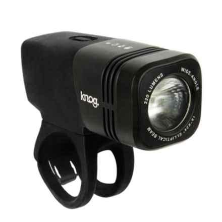 Knog Blinder ARC 220 Bike Light - 220 Lumens in Black - Closeouts