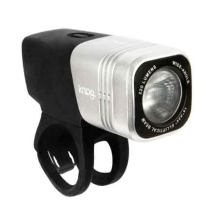 Knog Blinder ARC 220 Bike Light - 220 Lumens in Silver - Closeouts