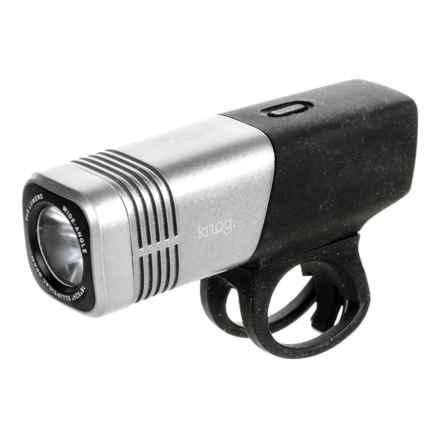 Knog Blinder ARC LED Bike Light - 640 Lumens in Silver - Closeouts