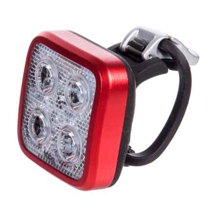 Knog Blinder Mob Four Eyes Bike Light - 80 Lumens in Red - Closeouts