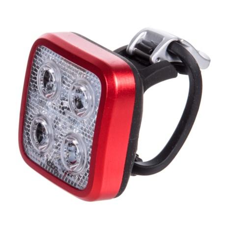 Knog Blinder Mob Four Eyes Bike Light - 80 Lumens in Red