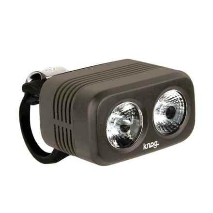 Knog Blinder Road 400 Bike Light - 400 Lumens in Pewter - Closeouts