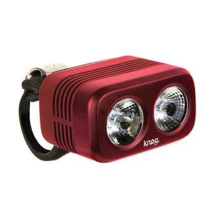 Knog Blinder Road 400 Bike Light - 400 Lumens in Ruby - Closeouts
