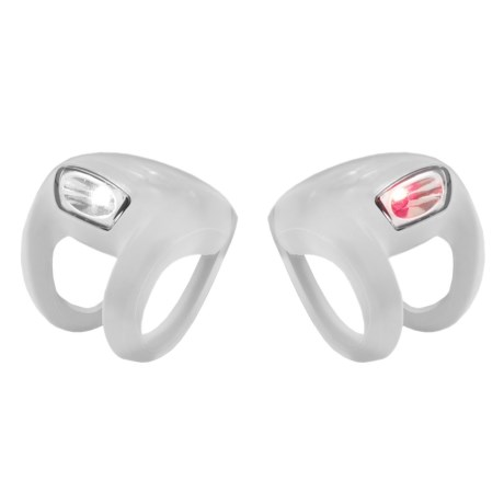 Knog Frog Strobe Light Twin Pack - 2-Pack in White