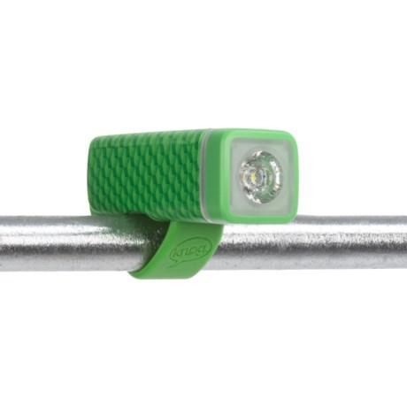 Knog Pop 1-LED Front Bike Light in Green