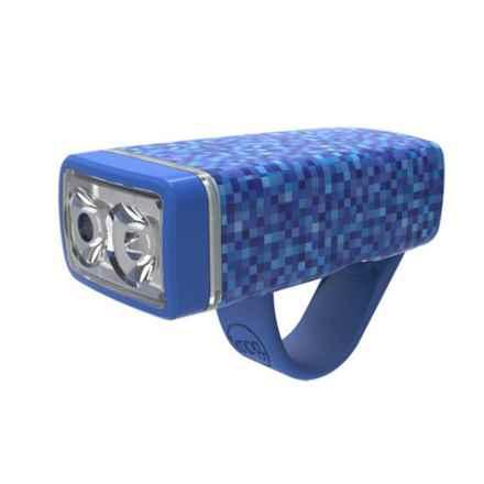 Knog Pop 2-LED Front Bike Light in Dark Blue - Closeouts