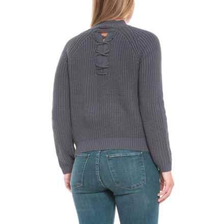 0e1a4d70506e45 Knyt   Lynk Mock Neck Sweater (For Women) in Steel Blue - Closeouts