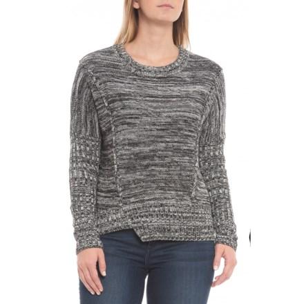 07338cef705 Knyt   Lynk Uneven Hem Shirt - Long Sleeve (For Women) in Black