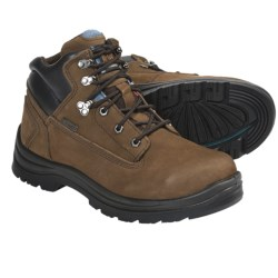 "Kodiak 6"" Steel Toe Work Boots - Waterproof, Insulated (For Men) in Brown"