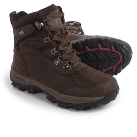 Kodiak Ballard Snow Boots - Waterproof, Insulated (For Men) in Brown - Closeouts