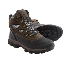 Kodiak Bear Snow Boots - Waterproof, Insulated (For Men) in Brown Suede/Camo - Closeouts