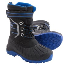Kodiak Brady REPEL X® Pac Boots (For Little and Big Boys) in Blue Knight - Closeouts