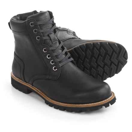 Kodiak Delson Leather Boots - Waterproof (For Men) in Black - Closeouts