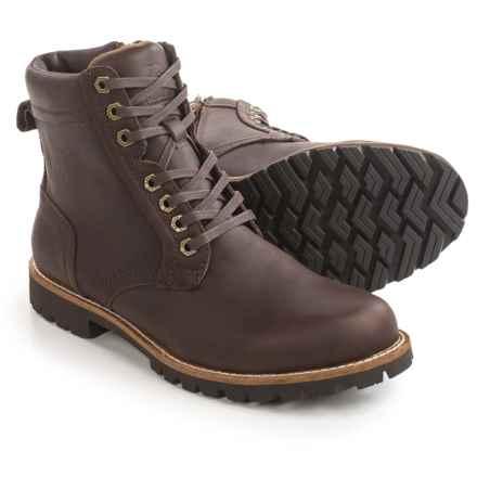 Kodiak Delson Leather Boots - Waterproof (For Men) in Dark Brown - Closeouts