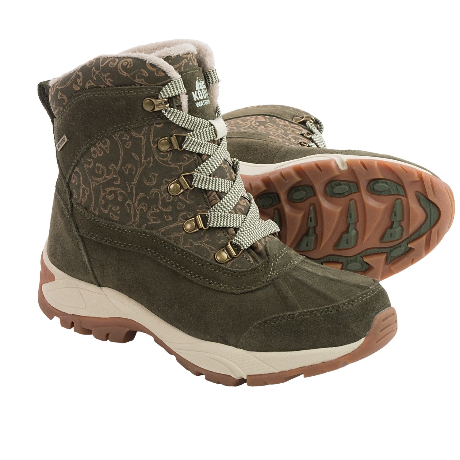 Perfect Kodiak | Surrey Boot In Brown | Getoutsideshoes.com
