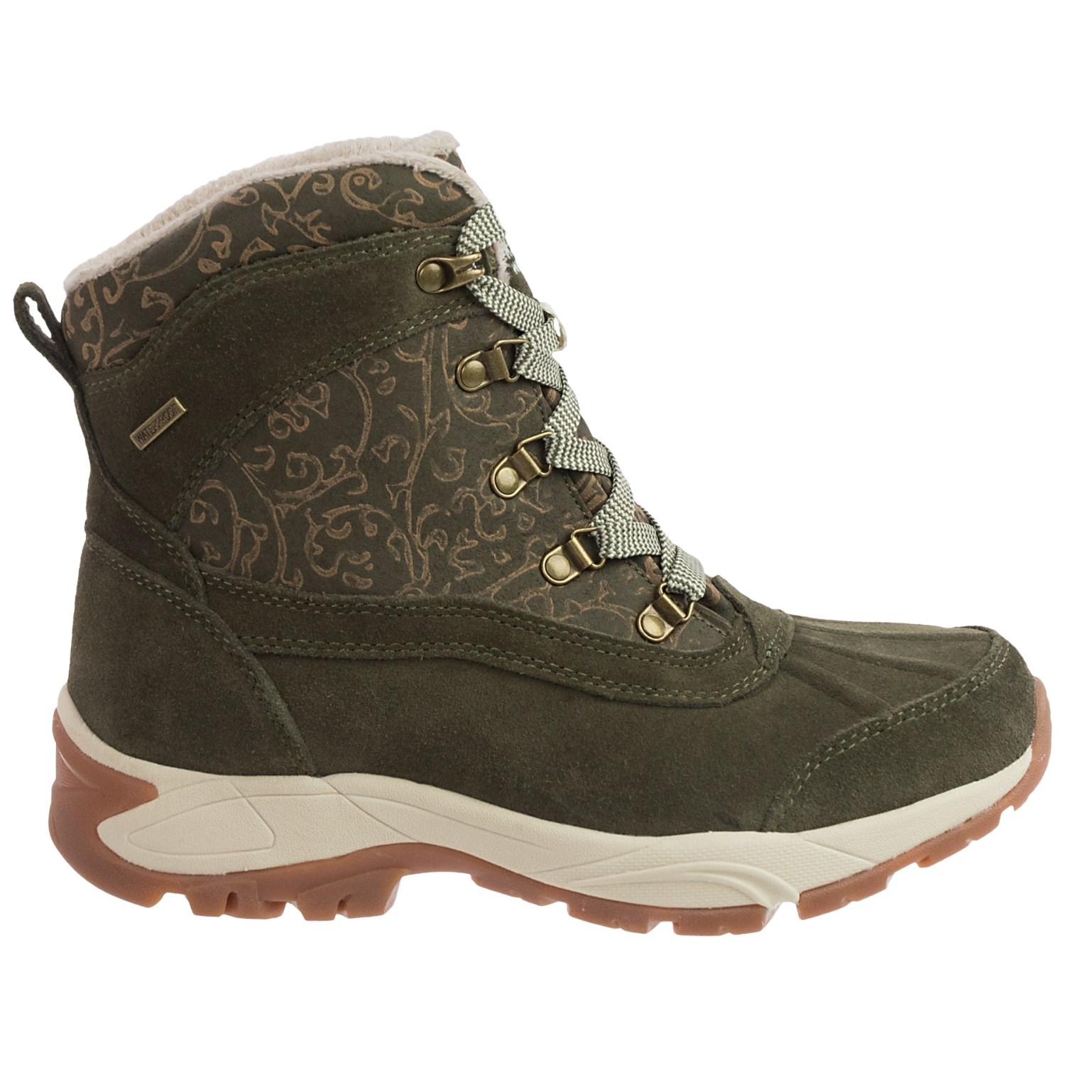 Kodiak Elie Leather Snow Boots (For Women) - Save 78%