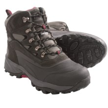 Kodiak Elk Snow Boots - Waterproof, Insulated (For Men) in Grey/Black - Closeouts