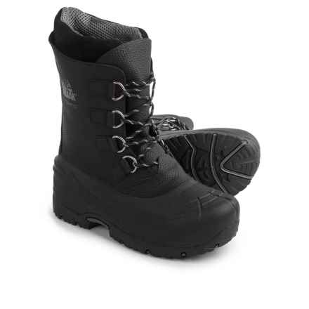 Kodiak Hudson Pac Boots - Waterproof, Insulated (For Men) in Black - Closeouts