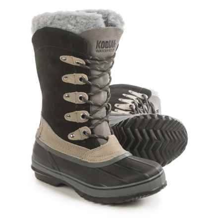 Kodiak Kyra Pac Boots - Waterproof (For Women) in Black - Closeouts