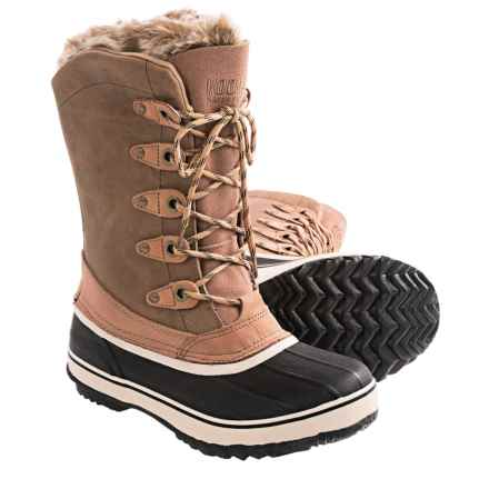Kodiak Kyra Pac Boots - Waterproof (For Women) in Brown - Closeouts