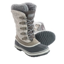 Kodiak Kyra Pac Boots - Waterproof (For Women) in Grey - Closeouts