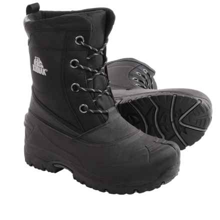 Kodiak Lander Pac Boots - Waterproof, Insulated (For Men) in Black - Closeouts