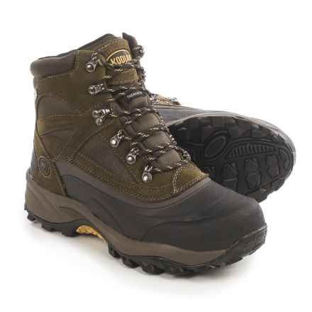Kodiak Mackenzie Snow Boots - Waterproof, Insulated (For Men) in Brown - Closeouts
