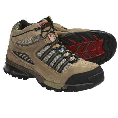 Kodiak Macklin Toe Guard Hiking Boots (For Men) in Grey