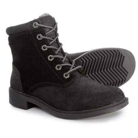 Kodiak Original Leather Fleece Boots - Waterproof (For Women) in Black 04d92e8d49e4