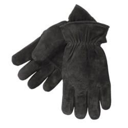 Kodiak Pigskin Suede Gloves (For Men) in Brown